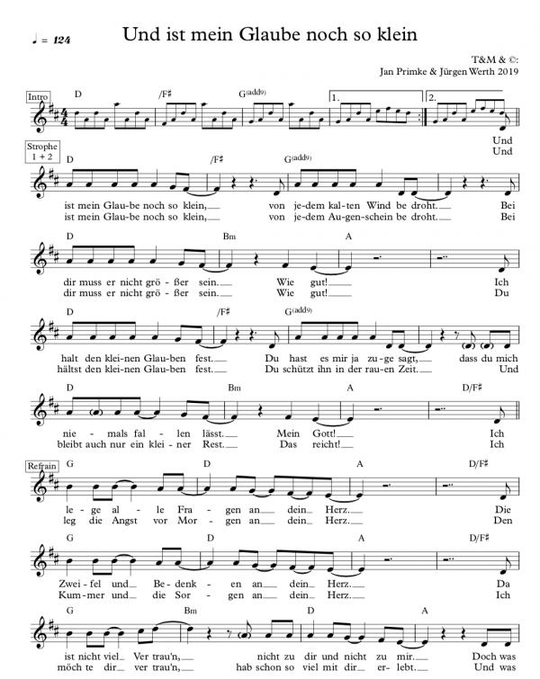 Lied zur Jahreslosung 2020