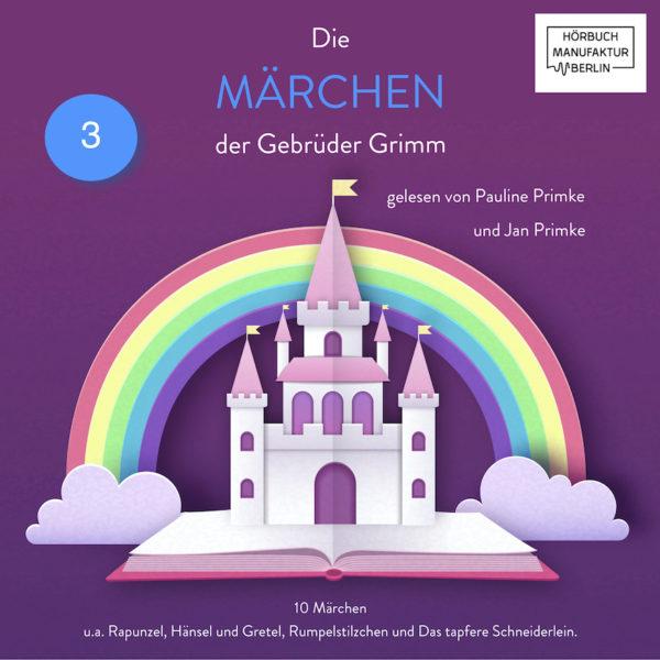 Die Märchen der Gebrüder Grimm Hörbuch Band 3 Cover